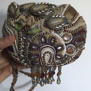 Mary Frances RETIRED RARE purse bag beaded